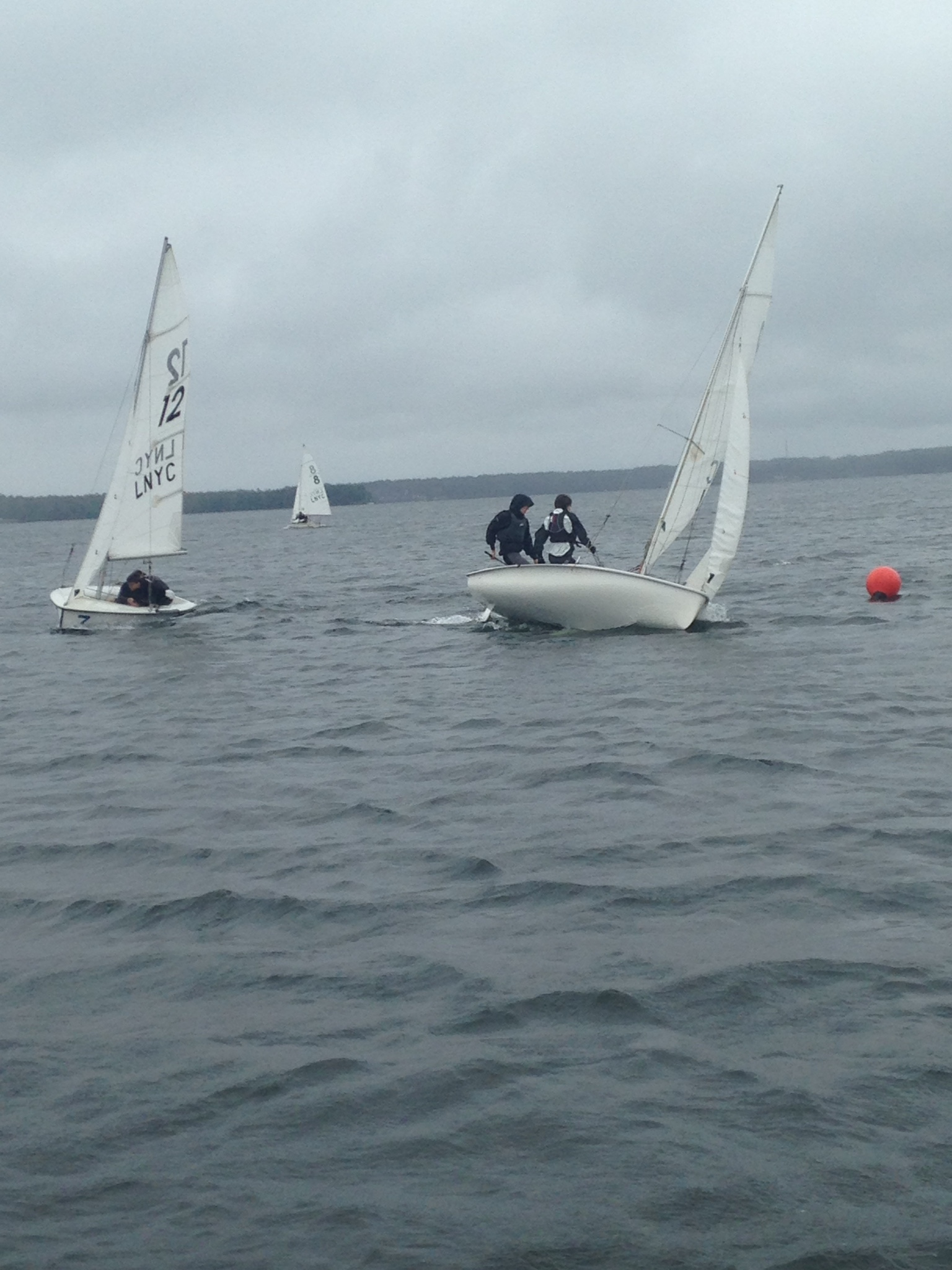 Dinghy practice