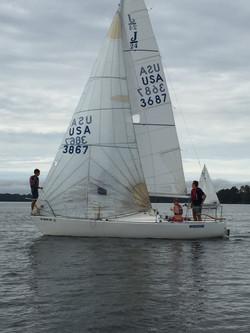 Keelboat practice Fall '15