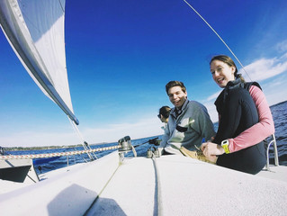 Keelboat Practice & Beautiful Weather