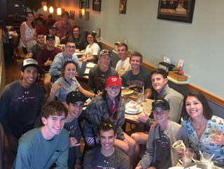 Invitational Celebration Over Pizza!