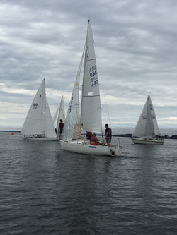 Keelboat practice