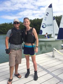 Margs & Ian SAISA Open '16