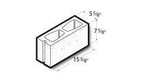 """Best Block - 6"""" Solid Fitting"""