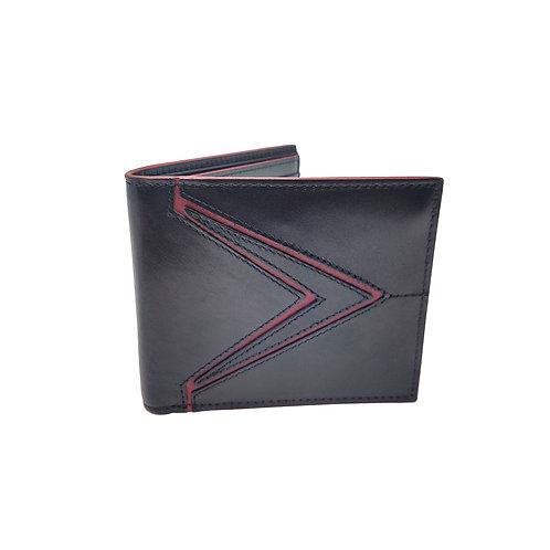 Galaxy calfskin bifold wallet black