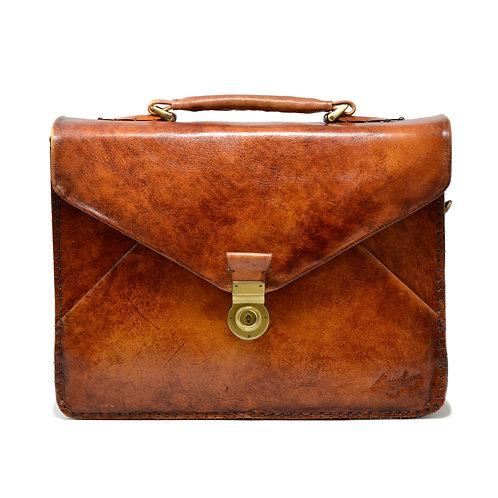 Vanvitelli 3 gusset briefcase red