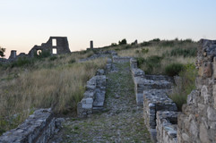 Aquilonia, the ghost town.