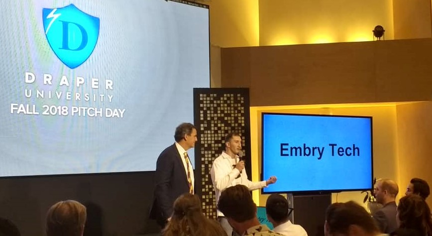 Embry Tech CEO with Tim Draper