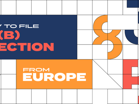How to file 83(B) election from Europe