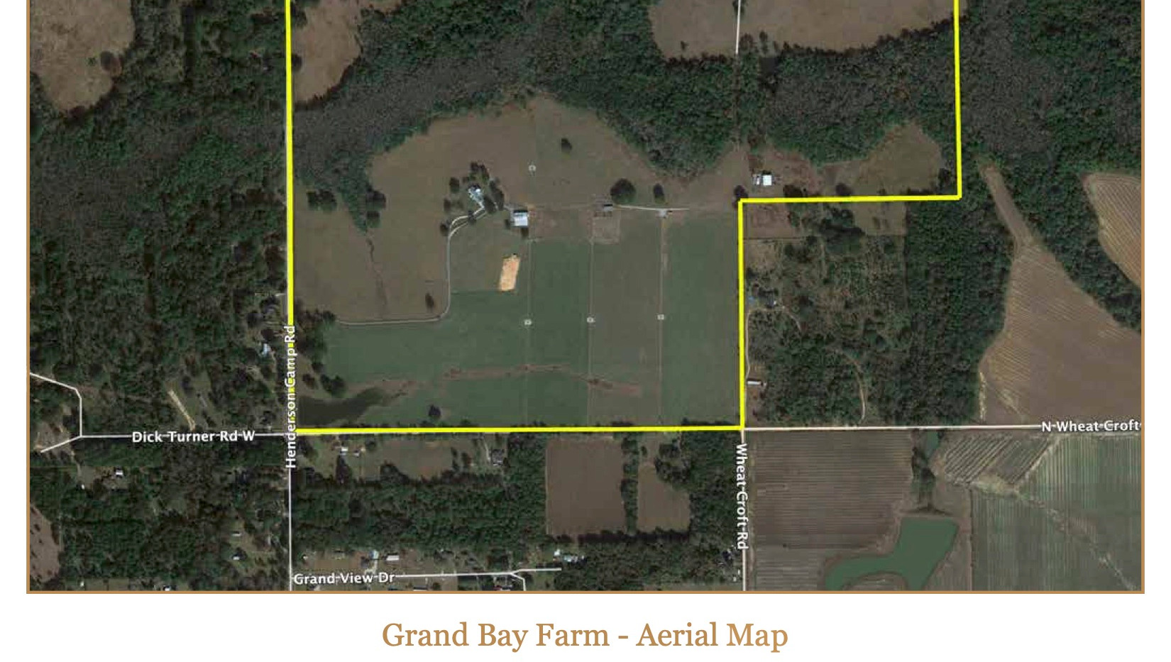 Grand Bay Farm - Aerial Map