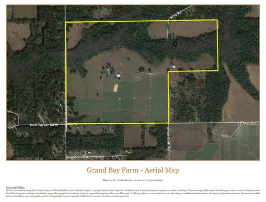 Grand Bay Farm - Aerial Map