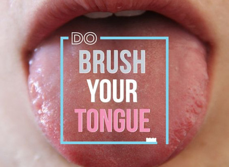 Has anyone ever professionally cleaned your tongue?