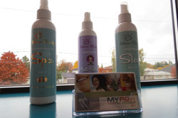 Aromatherapy spa mist