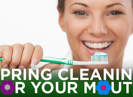 Spring Clean your teeth!!!