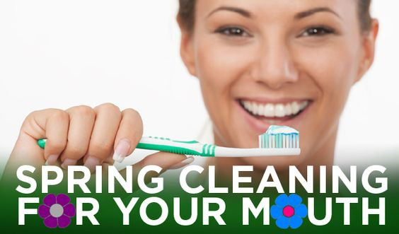 Clean your teeth this spring