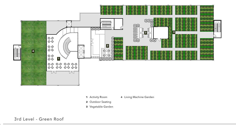 Mysite senior living for Roof garden floor plan