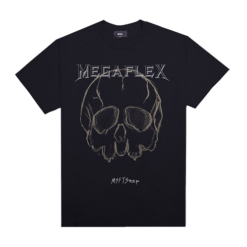 MEGAFLEX T-SHIRT, BLACK
