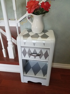 Reinvigorated Waterfall Style End Table
