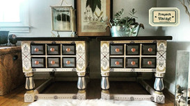 Folklore End Tables