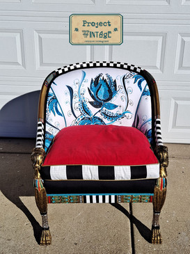 Egyptian Inspired Empire Chair