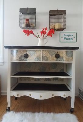 Reimagined Antique Dresser Now Buffet