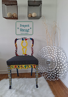 Tribute to Pop Art Chair