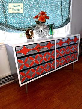 Reinvigorated Midcentury Dresser / Table