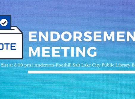 Black Caucus Endorsement Meeting
