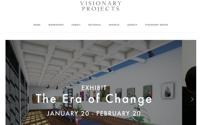 """Selected Exhibition The Visionary Projects, """"The Era of Change"""", New York,  January 2021"""