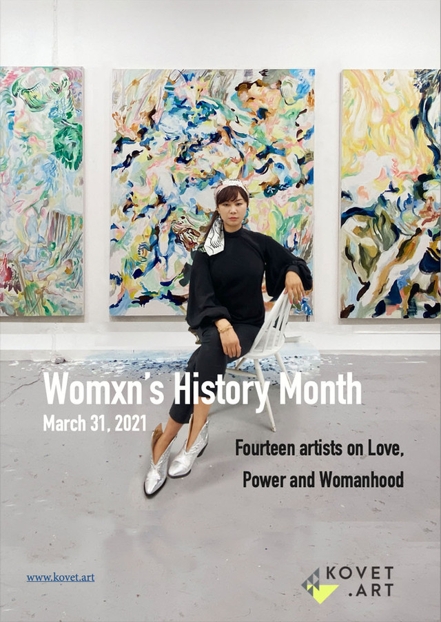 """""""Womxn's History Month"""" by Kovet.Art, March 2021"""