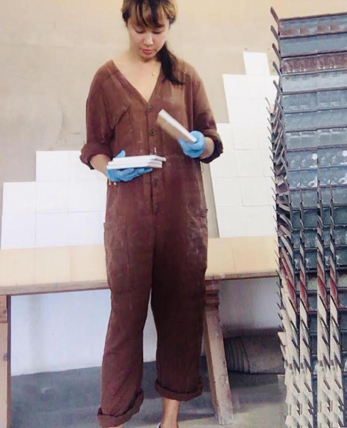 Artist residency, 170-years-old Tile Factory Viuva Lamego, Sintra, Portugal, 2019