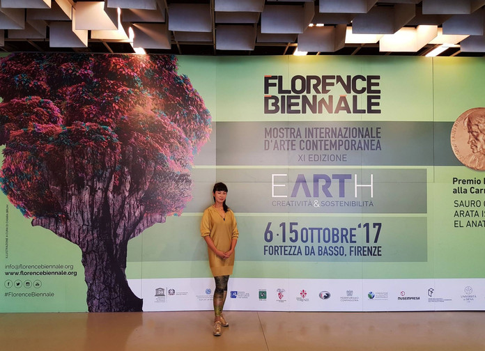 Featured Exhibition, 'Earth and Sustainability' Florence Biennale XI, Florence, Basso, 2017