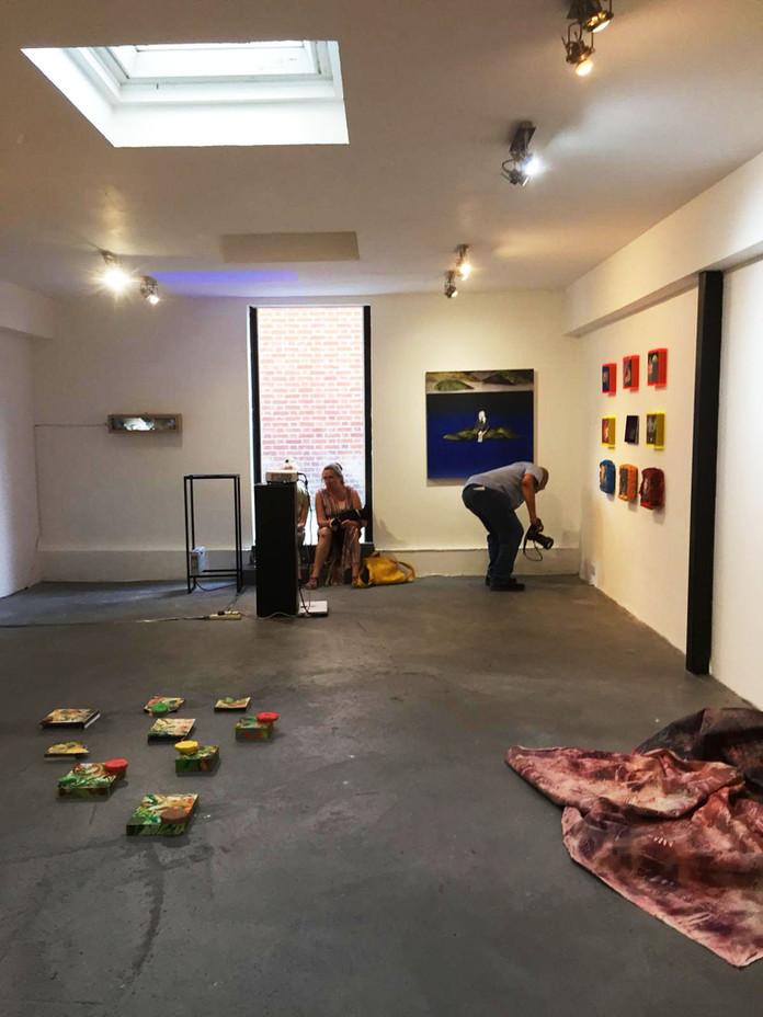 CSM Pop-up Art show 'Defiance of Dissent', Dalston, Hackney, 2019