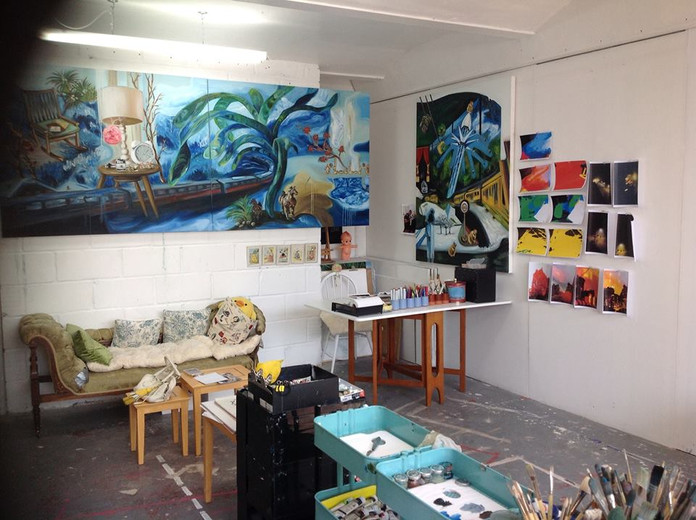 Union street studio! 2014