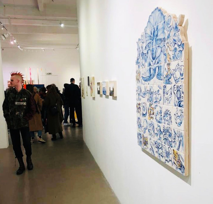 'Becomings' Group Exhibition, APT Gallery, 2020