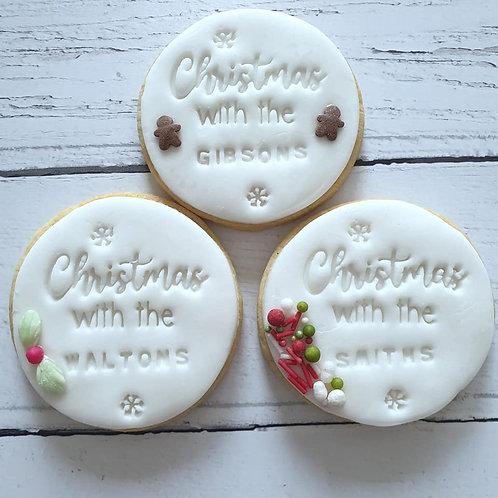 Personalised Christmas Cookies