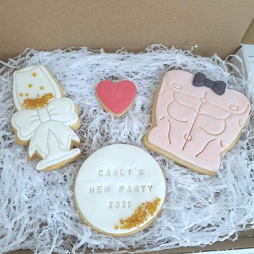 Hen Party Biscuit Set