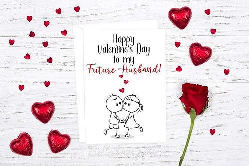Future Husband Valentines Card