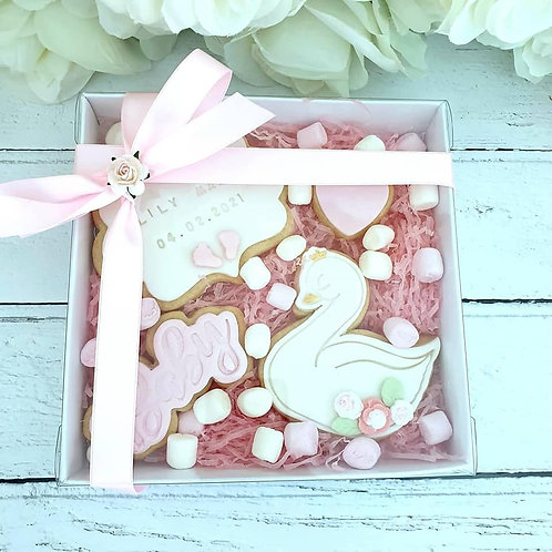 New Baby Cookie Gift Set