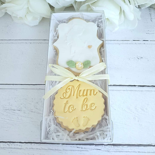 Baby shower, Mummy to be cookie set
