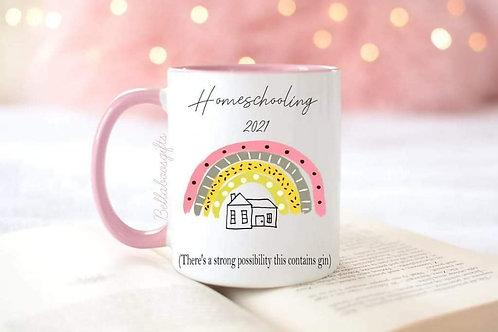 Lockdown homeschooling mug
