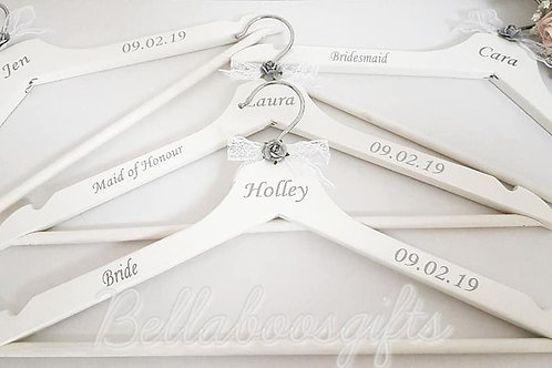 Wedding Hanger VINYL DECALS ONLY