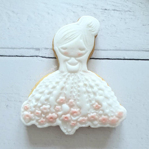 Flower girl/bridesmaid cookie