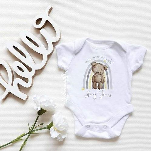 Teddy Bear Baby Vest