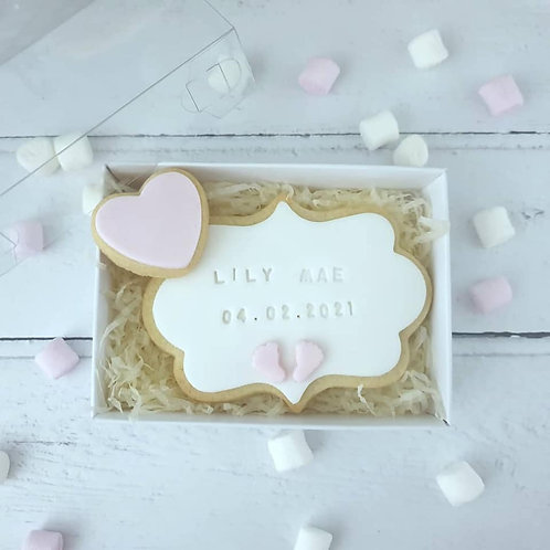 Baby Announcement Cookie Gift