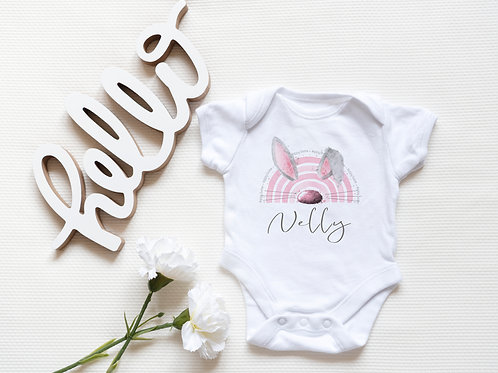 Personalised Easter Bunny Baby Vest