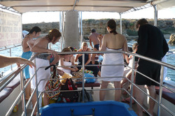 Families on Captain Nick's Boat