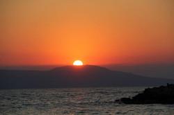 Sun Setting over Thodorou Island