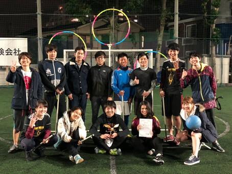 第一回クィディッチ全日本選手権開催