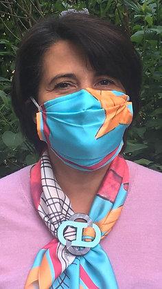 Masque 1 - Pop Art Framboise