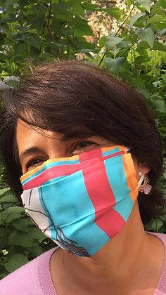 Masque 5 - Pop Art Framboise